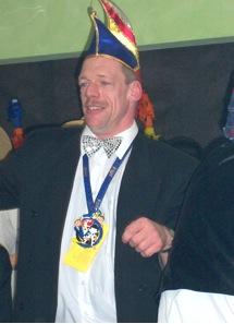 Michael Heuel, 1. Vorsitzender der Eichhagener Karnvalsgesellschaft e. V.